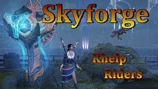 Skyforge - Khelp Riders  Stat Replacement