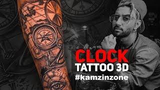 3D Clock Tattoo | Kamz Inkzone Baby | I M INKED 2018