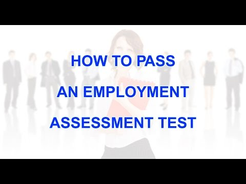 , title : 'How to pass employment assessment test'