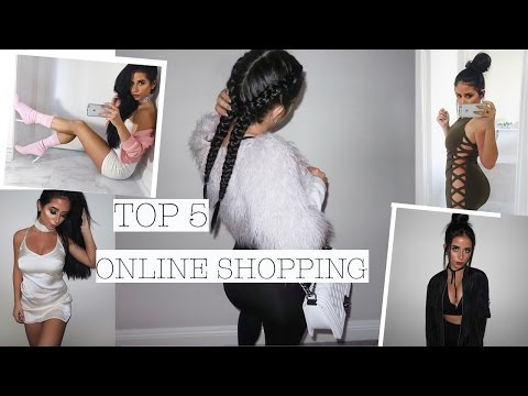 TOP 5 PLACES TO SHOP ONLINE