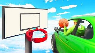 GTA 5 BASKETBALL Battle CHALLENGE! (Funny Moments)