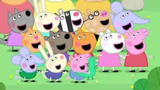 Свинка Пеппа на русском все серии подряд! 🦒 Жираф Джеральд! Мультики для детей!
