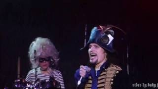 Adam Ant-THE HUMAN BEINGS [Adam & The Ants]-Fillmore-San Francisco-2.7.17-Kings Of The Wild Frontier