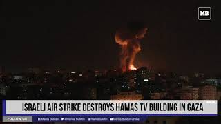 Palestinians fire rockets Israel bombs