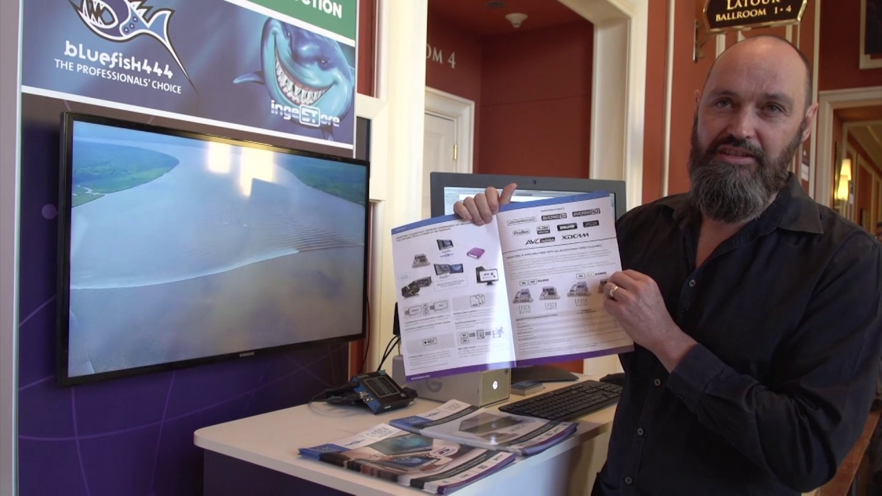 Bluefish444 at Avid Connect 2017
