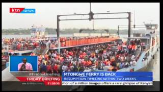 Government set to re-launch Mtongwe ferry so as to ease transportation