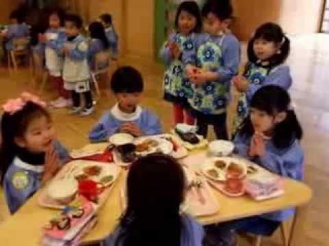 140206名古屋文化幼稚園のランチタイム