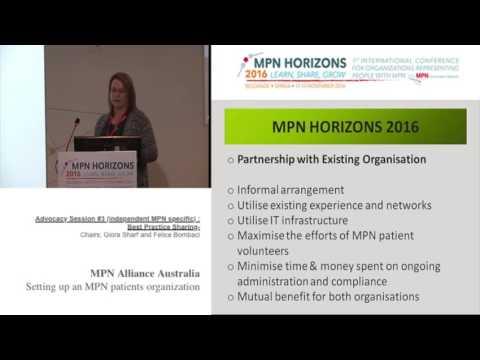 Advocacy session #3 Best practice MPN Alliance Australia