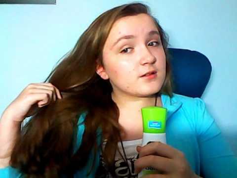 Beim Aufwaschen des Haares prolabiert das Haar sehr