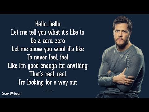 Imagine Dragons Zero Lyrics