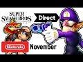 Die FINALE Smash Bros. Ultimate Direct im November.