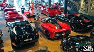 THIS is the Ultimate Ferrari Mancave!