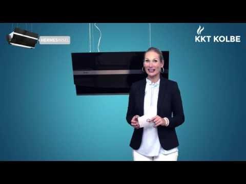 KKT KOLBE Produkt-Check: Kopffreie Insel-Dunstabzugshaube HERMES INSEL