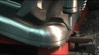 Die Mold Machining on VM 1260