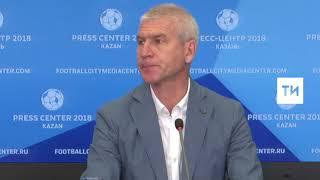 Пресс конференция Председателя Международной федерации студенческого спорта Олега Матыцина