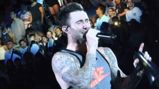 Maroon 5 This Summer's Gonna Hurt Like A Motherfucker (new hot hit) LIVE in Italy