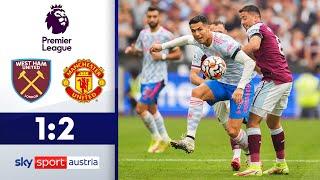 Ronaldo trifft erneut! | West Ham United - Manchester United | Highlights - Premier League 2021/22
