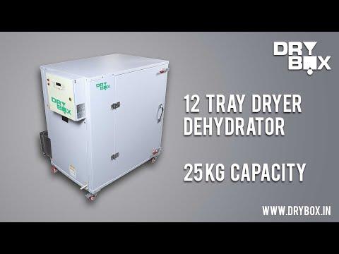 Three Phase 12 Trays Dryer (Fully SS Model)