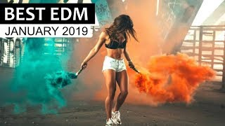 BEST EDM JANUARY 2019 💎 Electro House Dance Charts Music Mix