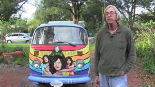 VW Bus A Tribute To Led Zeppelin, Hippie Culture
