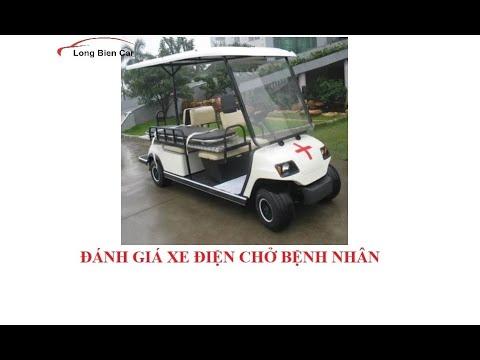Xe điện chở bệnh nhân trong viện