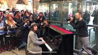 Sara Bareilles Plays 'Love Song' At St. Pancras