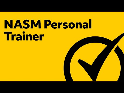 Free NASM Personal Trainer Study Guide - YouTube