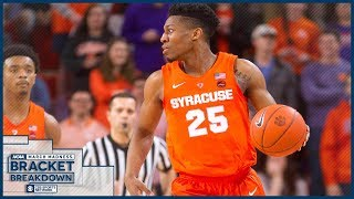 Who could BUST YOUR NCAA TOURNAMENT BRACKET!? | NCAA Bracket Breakdown