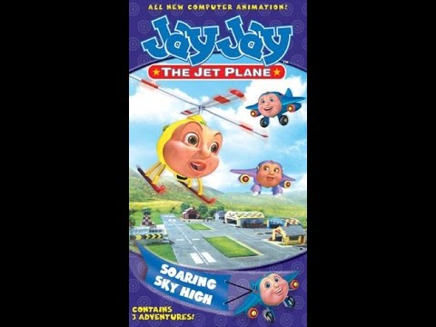 opening to jay jay the jet plane soaring sky high 2002 vhs