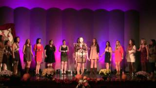 Keep On Singing My Song (Christina Aguilera) - VT Soulstice - Fall 2011 Concert