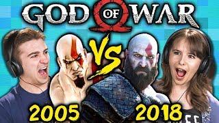 GOD OF WAR Old Vs. New (2005 Vs. 2018) (React: Gaming) - Video Youtube