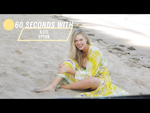 60 Seconds With Kate Upton | Health