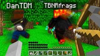 PLAYING MINECRAFT AS A SKELETON!
