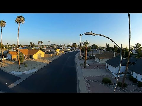 Geprc Cinerun HD3 DJI Air Unit - FPV Early Sunrise Neighborhood Range Test Flight........PASSED