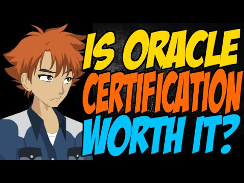 Is Oracle Certification Worth It? - YouTube