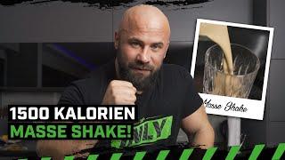 1500 Kalorien! | Sharo macht Masse Shake sein Vater | Fress dich Fit | Zec+ Nutrition