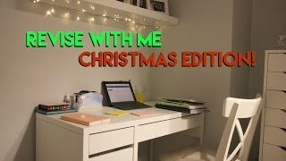 REVISE WITH ME: CHRISTMAS HOLIDAY EDITION | Eve