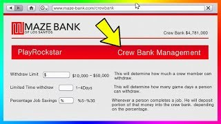 GTA Online Shared Bank Account Concept - Sharing Money, Giving Cash To Friends & MORE! (GTA 5)