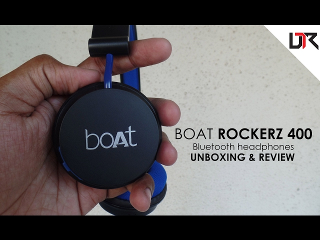 BOAT Rockerz 400 Wireless Headphones | Unboxing and Review - Cinematic