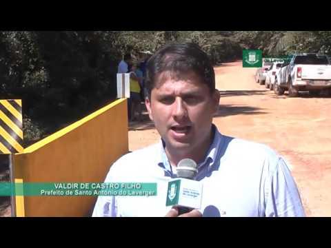 PRAIA DO POÇO - Prefeitura inaugura ponte de concreto na comunidade ribeirinha