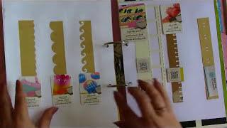 Còmo Organizo Mis Materiales Para Scrapbook En Un Catálogo/Muestrario.