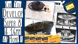 Can You Develop Super 8 & 16mm AT HOME?? | Analog Resurgence WEEK