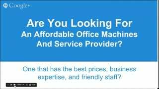 preview picture of video 'Office Machines Sale Call 978-342-8696 - Fitchburg MA Appleseed Business Machines'
