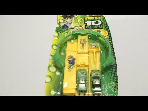 New Ben 10 Alien Force Track Racing Car Toy
