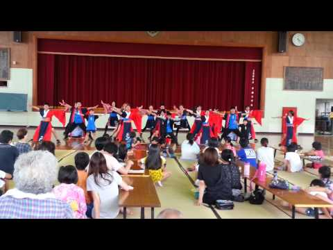 上天草 慈秀@中南小学校夏祭り 『海乱鬼』