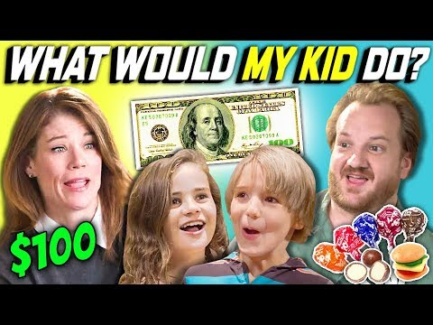 CAN PARENTS GUESS WHAT THEIR KID DOES WITH $100? Ep. # 5