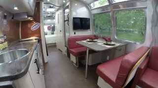 Walk Through 2016 Airstream International Serenity 30W Travel Trailer - Hershey Rv Show Edition