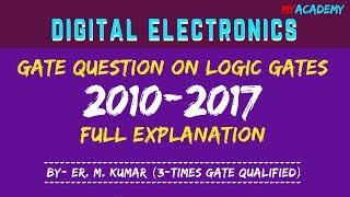 Logic Gate GATE Question Explanation | Digital Electronics
