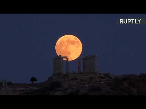 Полное лунное затмение — LIVE
