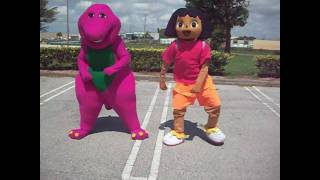 POOCH YAE by BARNEY AND DORA THE EXPLORER DANCE